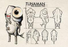 Tunaman Modelsheet 1 by MagicRubber.deviantart.com on @deviantART