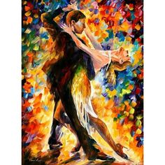 Mark Spain Dance I Painting ❤ liked on Polyvore featuring home, home decor, wall art, handmade home decor, dancer painting, spanish paintings, spanish home decor and canvas home decor
