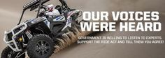 Polaris Asks Off-Road Enthusiasts to Help Drive The RIDE Act into Law Bills are now pending in the House and Senate Polaris Industries, Offroad, Acting, Monster Trucks, Law, Off Road