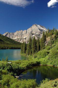 Lake Josephine, Glacier National Park, Montana