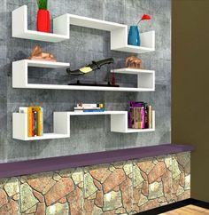 3 raf bir arada! Rafline Violet duvar rafı aynı gün kargo avantajı ile sadece 114 TL! Bu fırsatı kaçırmayın! #DekorazonCom >>  http://www.dekorazon.com/violet-duvar-rafi-beyaz-detayi-6531?utm_source=pinterest&utm_medium=kampanya&utm_campaign=rafline