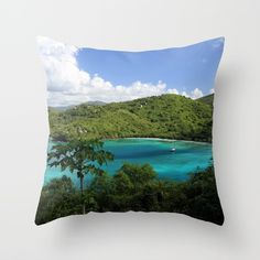 Buy Maho Bay Throw Pillow by heathergreen. Worldwide shipping available at Society6.com. Just one of millions of high quality products available.