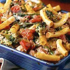 Recipe photo: Chicken and broccoli pasta bake