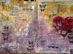 My Art journal / Mix media 2013 by VickyTA in Madrid
