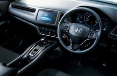 Honda-HRV-RS-Interior ~ http://autonetmagz.net/new-honda-hr-v-indonesia-will-be-available-in-4-version/7226/