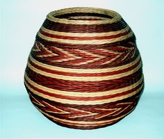 """Sedona Spirit.  2011.  Large, round reed. 15"""" x 10"""" approx. By Molly Gardner. 2014"""
