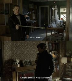 I love how eager to please Sherlock is here. He seems to genuinely want Watson as a flatmate. *