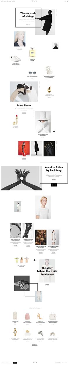I'm excited to share an e-commerce platform concept designed for people passionate about minimalist fashion