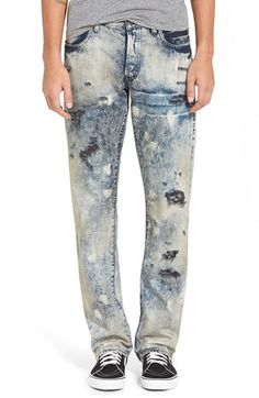 PRPS 'Barracuda - Libra' Straight Leg Jeans (Light Blue) available at #Nordstrom