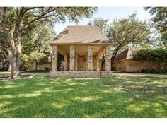 Williamsburg on Preston - One of the Best Kept Secrets In Dallas!!Sitting on .75 acre.This is a extraodainary home with many rooms great for extended family growth.Other rooms not listed are billiard room with bar and 3rd living room area with bar and view of pool and backyard. Also exercise room and hot tub in master suite.  Bring your  interior designer and imagination and create your own dream home.