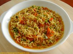 the best home-made #Maggi!