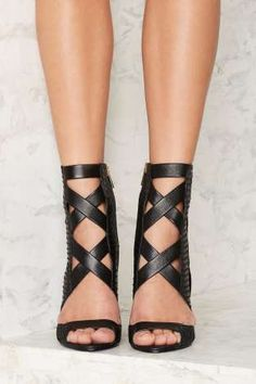 Lust for Life Whip Leather Heel | Shop Shoes at Nasty Gal!