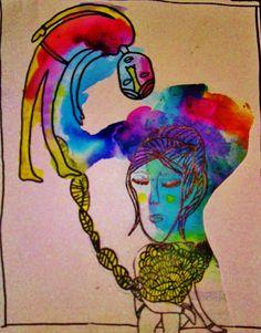 stuck Nienke Siegers Fictional Characters, Art, Art Background, Kunst, Gcse Art, Art Education Resources, Artworks