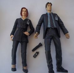 O.M.G. X-Files Action Figures!!! Vintage XFIles action figures by Oioipatchcompany on Etsy, $15.00