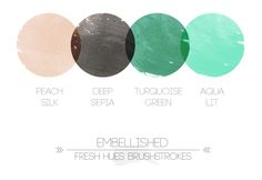 *brushstrokes* | fresh hues