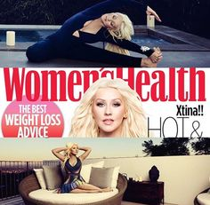 FASHION EDITOR: JACQUELINE AZRIA FASHION ASSISTANT: JENN EDELSON WOMENS HEALTH with CHRISTINA AGUILERA