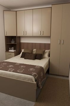 Chic Wardrobe Design Ideas For Your Small Bedroom Living Room Paint, Living Room Colors, New Living Room, Small Rooms, Small Apartments, Small Room Design, Bedroom Wardrobe, Small Bedroom With Wardrobe, Wardrobe Design