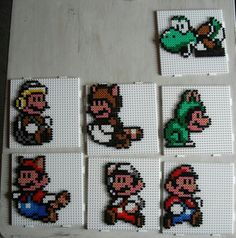 Perles à repasser - Mario