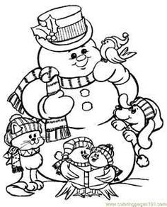 Free Printable Christmas Coloring Pages - Bing Images