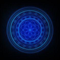 The Blues on the Behance Network – Sacred Geometry MANDALA