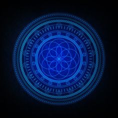 The Blues on the Behance Network – Sacred Geometry