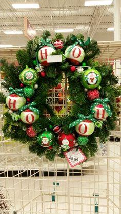 Wreath  Michaels custom floral #3862