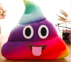 Newest Emoji Poop Plush Toy Pillow