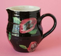 British Studio Pottery Milk jug With by redruthcollectables