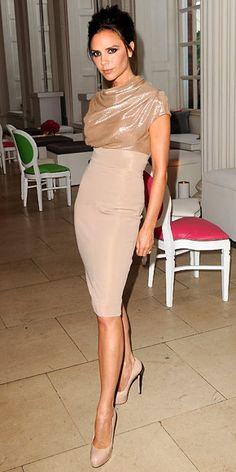 Victoria Beckham  in Brian Atwood, Victoria Beckham Dresses