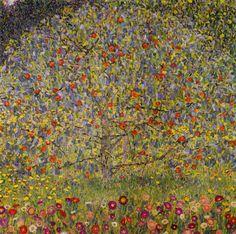 Gustav Klimt Apple Tree 1 (Apfelbaum 1) Canvas Print