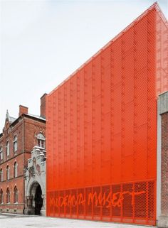 Moderna Museet Malmö .:. .:. Interesting architecture. . .but it's Orange.  .:.  Image Credit:  http://seattleinspired.wordpress.com/  .:.   #Ambit #Orange #EnergyGoldRush  Expand the pin and click thru to http://snow.EnergyGoldRush.com