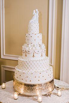 white gold 5 tier cake - Penelusuran Google