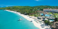 The Best Caribbean All Inclusive Resorts for Couples: Sandals Grande Antigua Resort and Spa