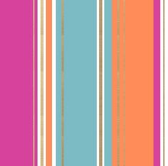 Salsa Stripe  Pink wallpaper by Crown  -  These are the colors I want to combine.