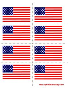 free 4th of july printables | Free printable 4th of July Labels | Print This Today