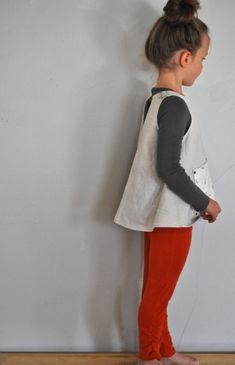 apron top and sunki leggings