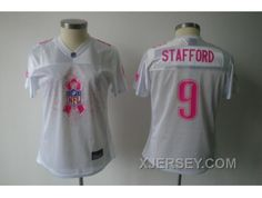 http://www.xjersey.com/new-women-nfl-detroit-lions-9-staffordshire-whitebreast-cancer-awareness.html NEW WOMEN NFL DETROIT LIONS #9 STAFFORDSHIRE WHITE[BREAST CANCER AWARENESS] Only 32.17€ , Free Shipping!