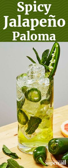 The perfect Highball for spicy cocktail-loving heat-seekers, this variation on the classic Paloma mixes the cooling flavors of a Mojito with raw capsicum heat. Made with fresh muddled jalapeño, mint, vegetal blanco tequila and sweet, spritzy, citrusy Squirt, it's both fiery and refreshing at once.