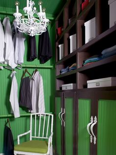 Green: Good Luck Charm  The color of money, generosity and fertility, green is considered calming and pleasing to the senses. In fact, health spas and doctors' offices routinely use pale shades of green on walls and furniture to keep their guests and patients relaxed. Bolder, saturated shades of green can brighten up the darkest of spaces.
