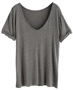 9bc726be7b Women s Summer Short Sleeve Loose Casual Tee T-Shirt Women s Summer Short  Sleeve Loose Casual Tee T-Shirt