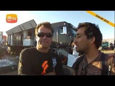 Dakar 2012 - Breve entrevista a Robby Gordon Robby Gordon, Rally, Ray Bans, Mens Sunglasses, Interview