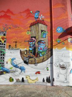 Street Art | Distorsion Urbana: Cranio