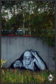"""street art by 'pavel183' (""""the Russian Banksy"""")"""
