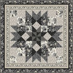 Wilmington Prints Kaye England Blackwood Cottage Table Topper Quilt Kit | Quilt Kit Quilt Patterns Free, Free Pattern, Hancocks Of Paducah, Wilmington Prints, Quilted Table Toppers, Quilt Kits, Quilt Top, Cottage, Quilts