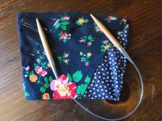 Patchwork Pouch with Velcro Closure by Craftzillaconquers on Etsy, $6.50