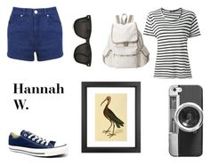 """Hannah W. - Casual"" by jijikooky ❤ liked on Polyvore featuring LeSportsac, Miss Selfridge, Bassike, Converse, Casetify and Dot & Bo"