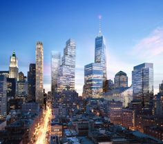 Two World Trade Center with Steps Will be Added to the NYC Skyline – Fubiz™