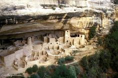 Mesa Verde National Park: a major highland near the southern boundary of CO; the largest archaeological preserve in the US; the only cultural National Park set aside by the National Park System; features numerous ruins of homes and villages built by the Ancestral Puebloan people: Anasazi; over 4000 archaeological sites and over 600 cliff dwellings of the Pueblo people at the site