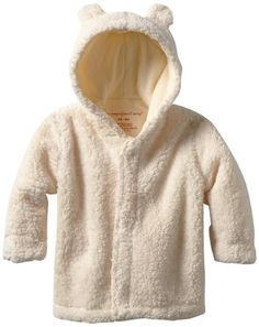 Lotus Springs Baby Girls Dbl Breasted Hooded Jacket
