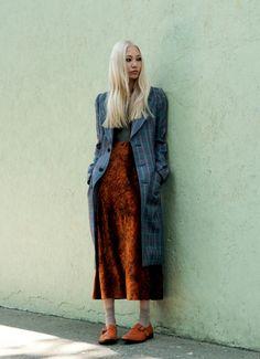 grey magazine #7 fall 2012  model: soo joo,  photographer: caitlin cronenberg, fashion editor: moreno galatà.